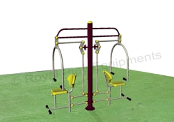 Gym Equipments - Chest Press Double - GE20