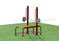 Gym Equipments - Chest Press Bench - GE33