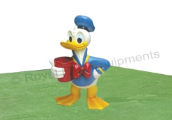Garden Sculptures - Donald Duck - S06