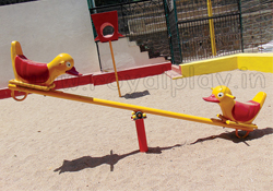 2 Seater See Saw Duck & Caterpiller - SS10