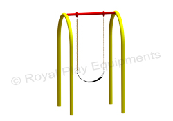 Garden Swing - 2 Seater ARC Swing - PS08